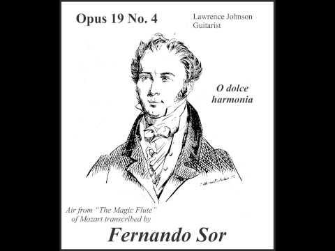 Fernando Sor - Opus 19 No 4 O Dolce Harmonia