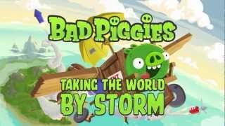 Bad Piggies con una promoción que se pasea por todo el mundo