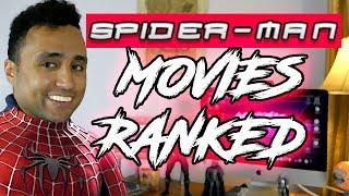 Ranking The Spiderman Movies: Mc80s Movie Reviews