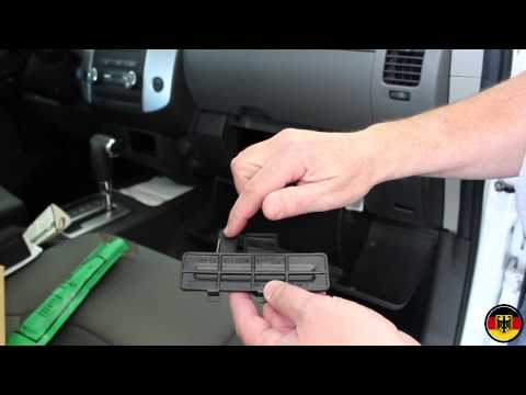 2007 nissan frontier cabin filter how to make do. Black Bedroom Furniture Sets. Home Design Ideas