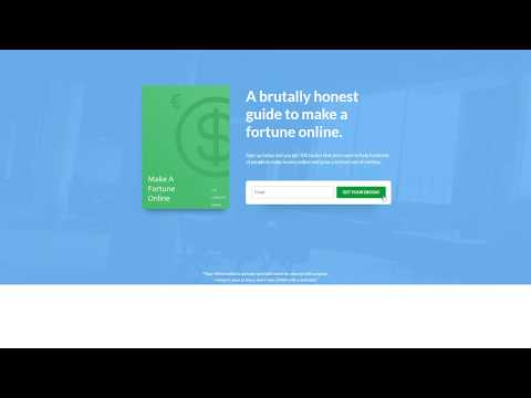 How To Make Money Online - From Broke To $100 A Day! [Free Ebook]