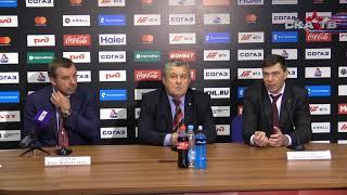 «Локомотив» – СКА. Пресс-конференция