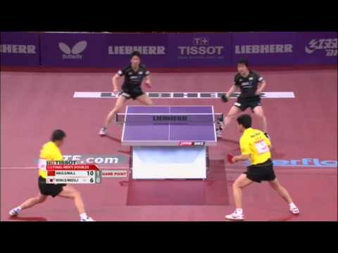 WTTC 2013 Highlights: Ma Lin/Hao Shuai vs Jun Mizutani/Seiya Kishikawa (1/2 Final)
