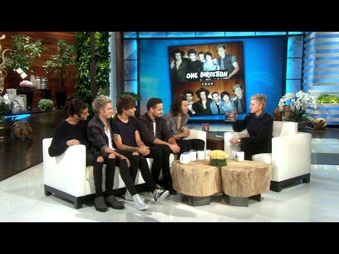 One Direction Explains How to Create a Women's Fragrance