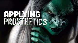 How to apply special effects prosthetics