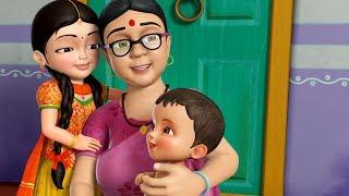 Naani Maa | Hindi Rhymes for Children | Infobells