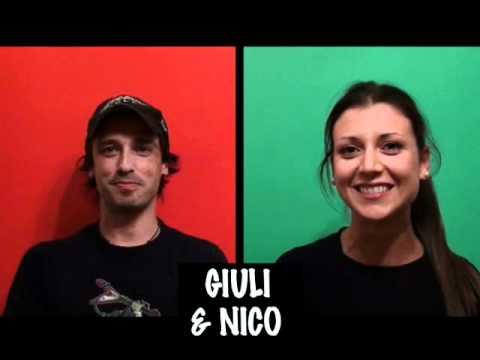 """Servizio """"Le Iene"""" + """"Quark"""" + Intervista doppia a Giuli e Nico"""