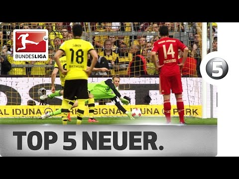Top 5 Moments - Manuel Neuer vs. Borussia Dortmund