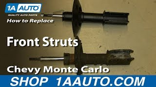 How To Replace Front Struts 2000-07 Chevy Monte Carlo and more GM