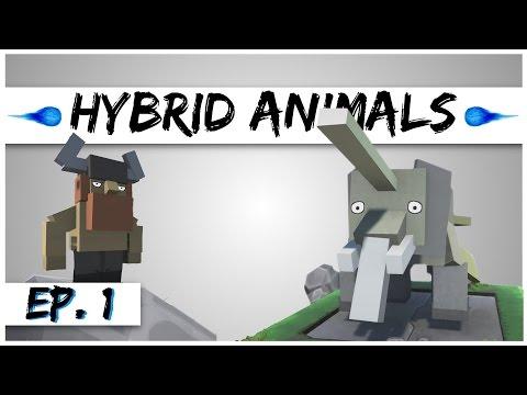 Hybrid Animals - Ep. 1 - Hybrid Elephant Narwhal Animal! - Hybrid Animals Gameplay