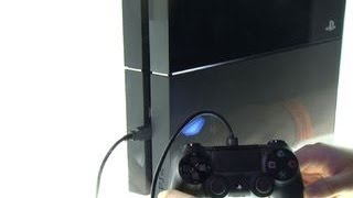 Finally getting our hands on the PlayStation 4