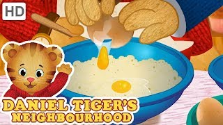 Daniel Tiger 🎂🥞 Bake and Cook with Me! | Videos for Kids