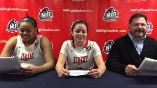 NJIT WBB Post Game Interview vs. Maryland Eastern Shore