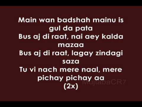 Billy-X - Baadshah (Lyrics)