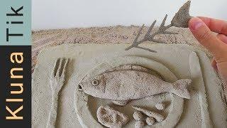 EATING SAND!!! Kluna Tik Dinner | ASMR eating sounds no talk comiendo arena 食べる砂 есть песок