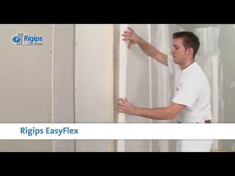 neuer kantenschutz easyflex von rigips verspricht 80 prozent zeitersparnis youtube. Black Bedroom Furniture Sets. Home Design Ideas