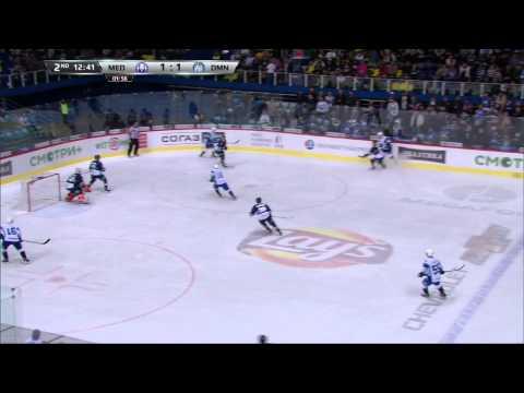 Dinamo Minsk @ Medvescak 11/19/2014 Highlights / Медвешчак - Динамо Минск 2:5