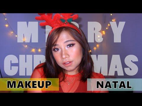 Christmas Makeup Tutorial 2018 - YouTube