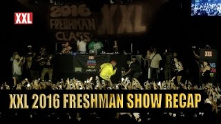 Exclusive Look at 2016 XXL Freshman Class Show in New York