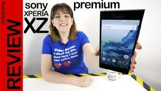 Sony Xperia XZ Premiun review -el móvil 4K con supercámara-
