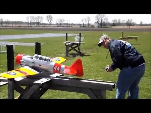 At-6 Maiden Flight video