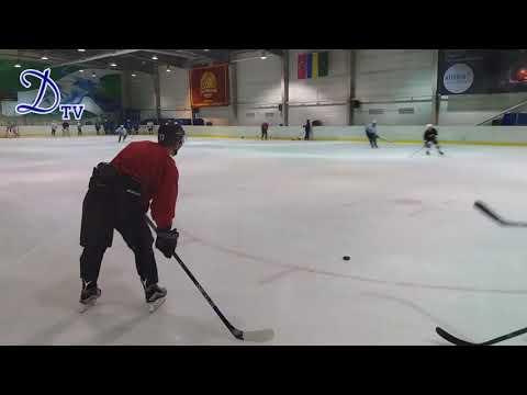 Предсезонная тренировка на льду МХК Динамо Харьков