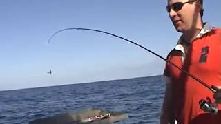 AMAZING TINY PEN fishing rod deep sea with Penfishingrods.com