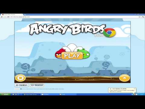 How to install Angry birds on your computer Google Chrome tutorial (commentary)