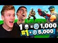 1 KILL = 1000 *FREE* VBUCKS In Fortnite Battle Royale w/ Vikkstar123
