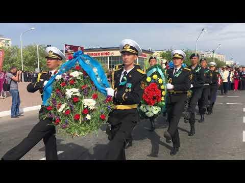 Шествие Бессмертный полк в Актау, 2018