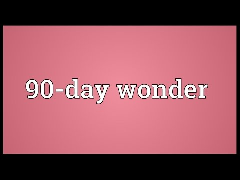 Header of 90-Day Wonder