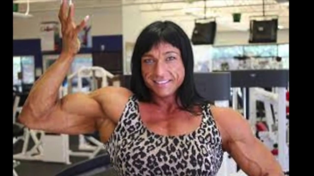 Women on Steroids FREAKS Before and after - YouTube