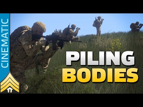 Piling Bodies - Arma 3 Route Clearance