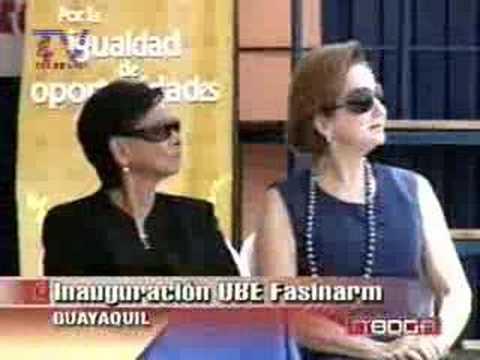 Inauguración UBE Fasinarm