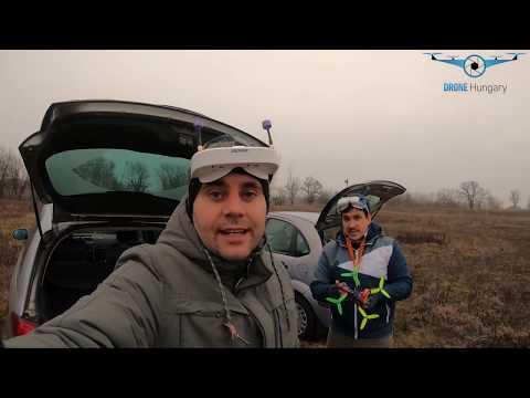 Tomi eltűnt, Ákos sebességet mér - Drone Hungary