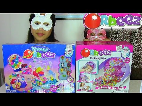 Orbeez Soothing Spa And Planet Orbeez Ali's Adventure Park Playsets - Kids' Toys video