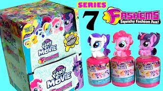 MLP Fashems SERIES 7 My Little Pony The Movie Fash'Ems Stacking Cups Toys Surprise