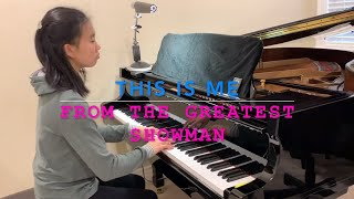 This Is Me The Greatest Showman Ft Keala Settle Piano By Pianoforte