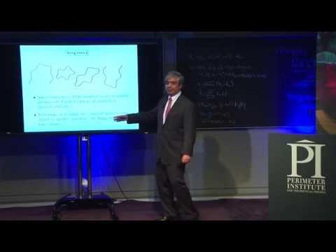 Subir Sachdev Public Lecture: Quantum Entanglement & Superconductivity