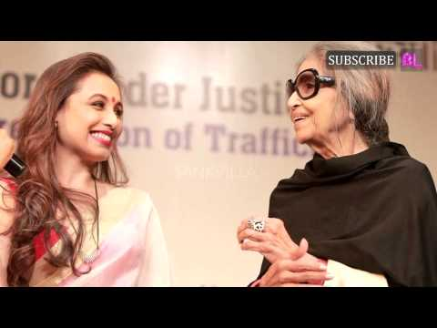 Rani Mukerji felicitated with the National Award