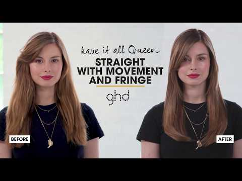 How To Style a Fringe | Bouncy Blow-out | #LongLiveTheQueens