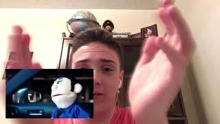 Reaction to akward puppets car talk Sam vs Diego