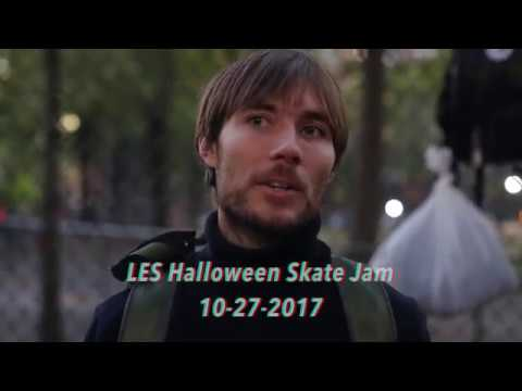 Alex Olson Halloween Skate Jam