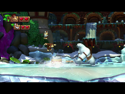 Wii U - Donkey Kong Country: Tropical Freeze - Cranky Kong Trailer