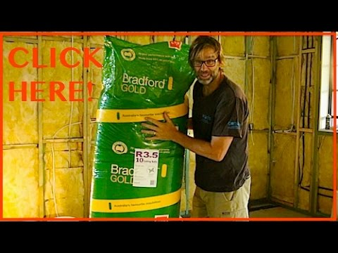 Wall and Ceiling Insulation. Owner Builder Series Ep 29.