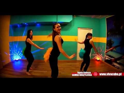 Samba Brazylijska Z Agatą Kuleszą - Warszawa - Kurs Tańca W Viva Cuba Dance Studio -
