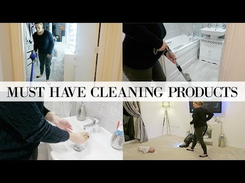 MY TOP 10 FAVOURITE CLEANING PRODUCTS YOU NEED TO HAVE | HOW TO CLEAN YOUR HOUSE FAST