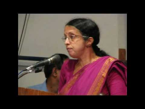 Ms. Pushpalatha Shantiar video