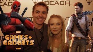 Voice of Deadpool & Nathan Drake - Nolan North | SBTV Games & Gadgets