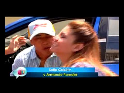 Sofia Caiche y Armando Paredes